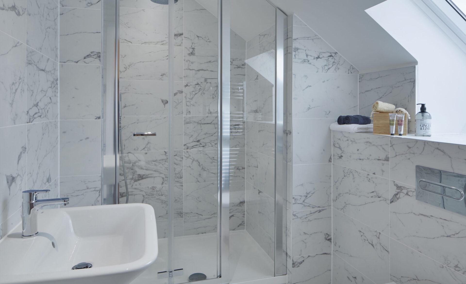 Lakside bathroom